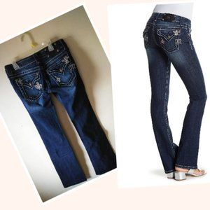 🔥2 for 50🔥Miss Me Dark Wash Boot Cut Jeans
